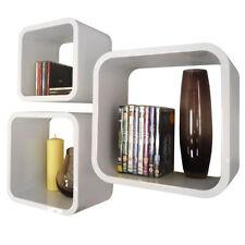 Bibliothèques, étagères et rangements blancs en plastique pour la maison