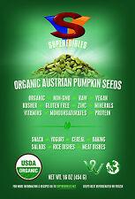 Superedibles Organic Austrian Pumpkin Seeds 1 lb