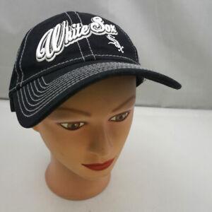 Chicago White Sox Hat Women's Black Adjustable Baseball Cap Pre-Owned ST225