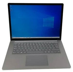 "Microsoft Surface Laptop 3 15"" Touchscreen AMD Ryzen 5 8GB RAM 128GB SSD Webcam"