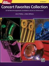 Accent on Performance Concert Favorites Collection: 22 Full Band Arrangements