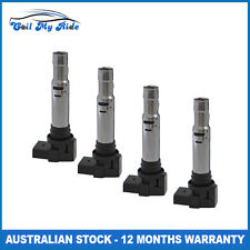 4 x Ignition Coil for Skoda Octavia Fabia Roomster Yetti 1.2L 1.4L 1.6L 4 Cyl
