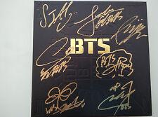 Signed Album BTS Bangtan Boys 2Cool4Skool all7members Hand Autograph official