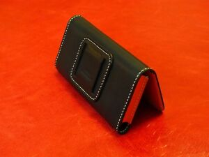 Gemini PDA Leather Protective Cover ( leather wallet case ) # Belt version #