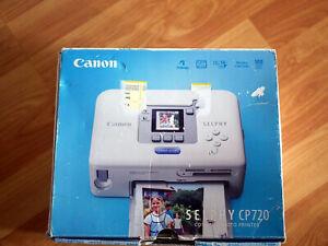 Fotodrucker Canon SELPHY CP720