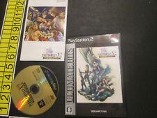 Final Fantasy X-2 International Last Mission Japan Import PS2 US Seller