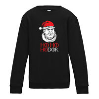 Ho Ho Hodor - Game of Thrones TV Christmas Xmas Jumper Gift Inspired Sweatshirt