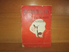 1939 Rudolph The Red-Nosed Reindeer Montgomery Ward Robert L May
