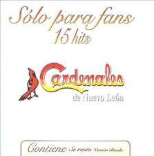 FREE US SHIP. on ANY 3+ CDs! NEW CD Cardenales De Nuevo Leon: Solo Para Fans 15