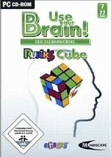 Use your brain! - Rubik 'S CUBE-PC-CD ROM-NUOVO