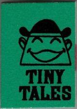 1966 MARVEL MINI BOOK TINY TALES GREEN GIVEAWAY PROMO  RARE NM