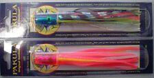 2 Pakula UZI PINK WHITE,PINK ANGLE Skirt lure brand new game fishing lures
