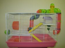 Hamster Mouse Gerbil Small Animal Cage Two Levels - Cage 2902B-1