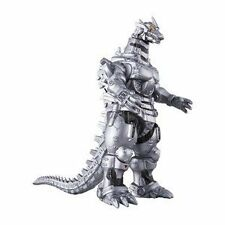 Bandai Movie Monster Series Godzilla Mechagodzilla 2004 Soft Vinyl Figure Sofvi