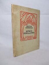 Chiereghin Salvino - Sintesi di storia della musica - L'Eroica 1925 ill. Binaghi