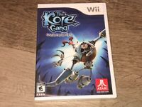 The Kore Gang Outvasion from Inner Earth Nintendo Wii Brand New Factory Sealed