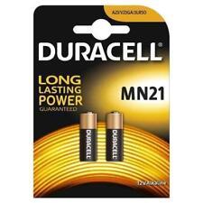 2 X Duracell MN21 A23 12V Sécurité Pile Alcaline 23A LRV08 Expiration 2020