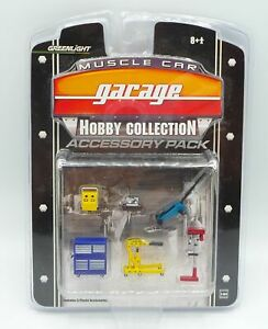 Muscle Car Garage Accessory Pack HO Scale Model Kit Greenlight #28625 NOS