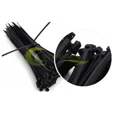1000pcs 12inch Nylon Plastic Zip Trim Wrap Cable Loop Ties Wire Self-Lock