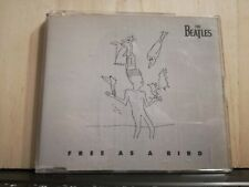 THE BEATLES - FREE AS A BIRD - I SAW HER STANDING THERE - CD slim case copia E.S