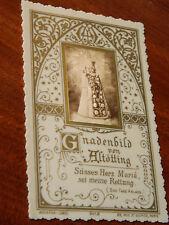 ancien IMAGE PIEUSE plastique BOUASSE LEBEL gnadenbild von altötting HOLY CARD