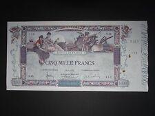 5000 F FLAMENG    18/01/1918  //  T.15   //  Beau TTB+