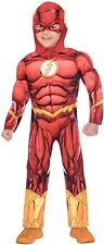 Amscan The Flash Child Costume Age 8-10 Years Fancy Dress Party Boys Superhero