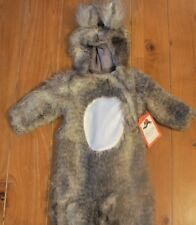 NWT Pottery Barn Kids WOODLAND BABY SQUIRREL Halloween Costume Faux Fur 0-6 Mo
