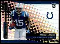 2019 PANINI UNPARALLELED COLTS PARRIS CAMPBELL RC OHIO STATE BUCKEYES #296
