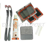 Bicycle Puncture Repair Kit Bike Tyre Patches Glue Inner Tube Puncher Set UK