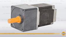 HOT 4-Lead NEMA 23 reduction gearbox Stepper Motor , Gear ratio 15:1, 20n.m , CE