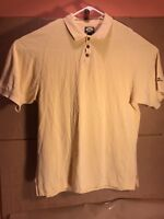 Tommy Bahama Men's Light Yellow Polo Style Extra Large Shirt