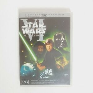 Star Wars VI Return of the Jedi Movie DVD Region 4 AUS Free Postage