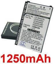 Batterie 1250mAh type UF553450U UF553450Z XWD033454 XWD051087 Pour I-mate Pean