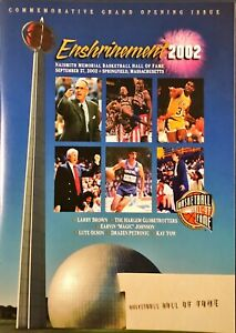 BASKETBALL HALL OF FAME ENSHRINEMENT PROGRAM/YEARBOOK LOT OF 12 MINT!