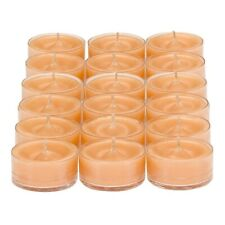 Partylite 1 Box 18 Scented Ginger Pumpkin Tealight Candles Tealights Nib