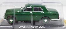 warzawa 223 Escala 1:43 Verde de Atlas die-cast