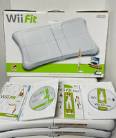 Lot Of 3 NINTENDO WII FIT BALANCE BOARD AND 2 GAME BUNDLE RVL-021