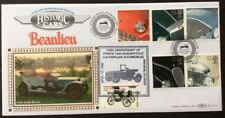1.10.1996 Classic Cars FDC Silver Ghost Rolls Royce-1898 Columbia-Ford Motors