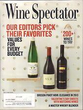 Wine Spectator January 31-February 29 2016 Oregon Pinot Noir w/ML VG 100516DBE