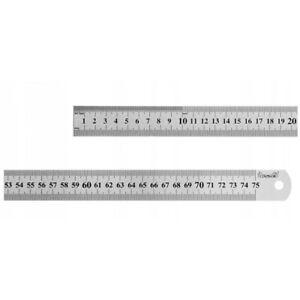 Stahlmaßstab Metalllineal Metallmaßstab Stahllineal Lineal von 300mm bis 1000mm
