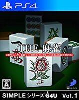 PS4 SIMPLE Vol.1 THE Mahjong Japan Game Japanese
