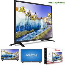 """Sceptre X322BV-SR 32"""" Class HD, LED TV - 720p, 60Hz, 16:9, Black, 2 Day Shipping"""