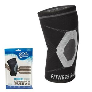 Knee Sleeve Compression Support Brace Running Recovery - Single Sleeve