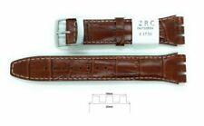 Bracelets de montre ZRC en cuir véritable