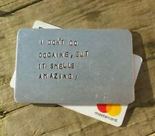 More details for metal credit card stag hen do cocaine drugs birthday party gifts for him men