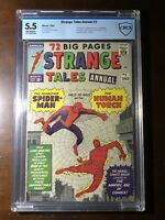 Strange Tales Annual #2 (1963) - 1st Spider-Man Crossover! (Not CGC) - CBCS 5.5!