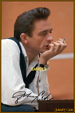 4x6 SIGNED AUTOGRAPH PHOTO REPRINT of Johnny Cash