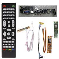 V56 Universal TV LCD Driver Board PC / VGA / HDMI / USB Interface+7 Key Board+LV