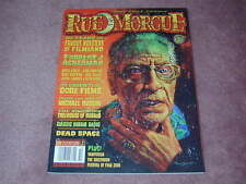 RUE MORGUE magazine # 83, Famous Monsters, Forry Ackerman, Basil Gogos
